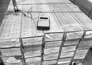 Holzfeuchtigkeit Messung