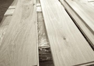 Geschliffene Holzdielen