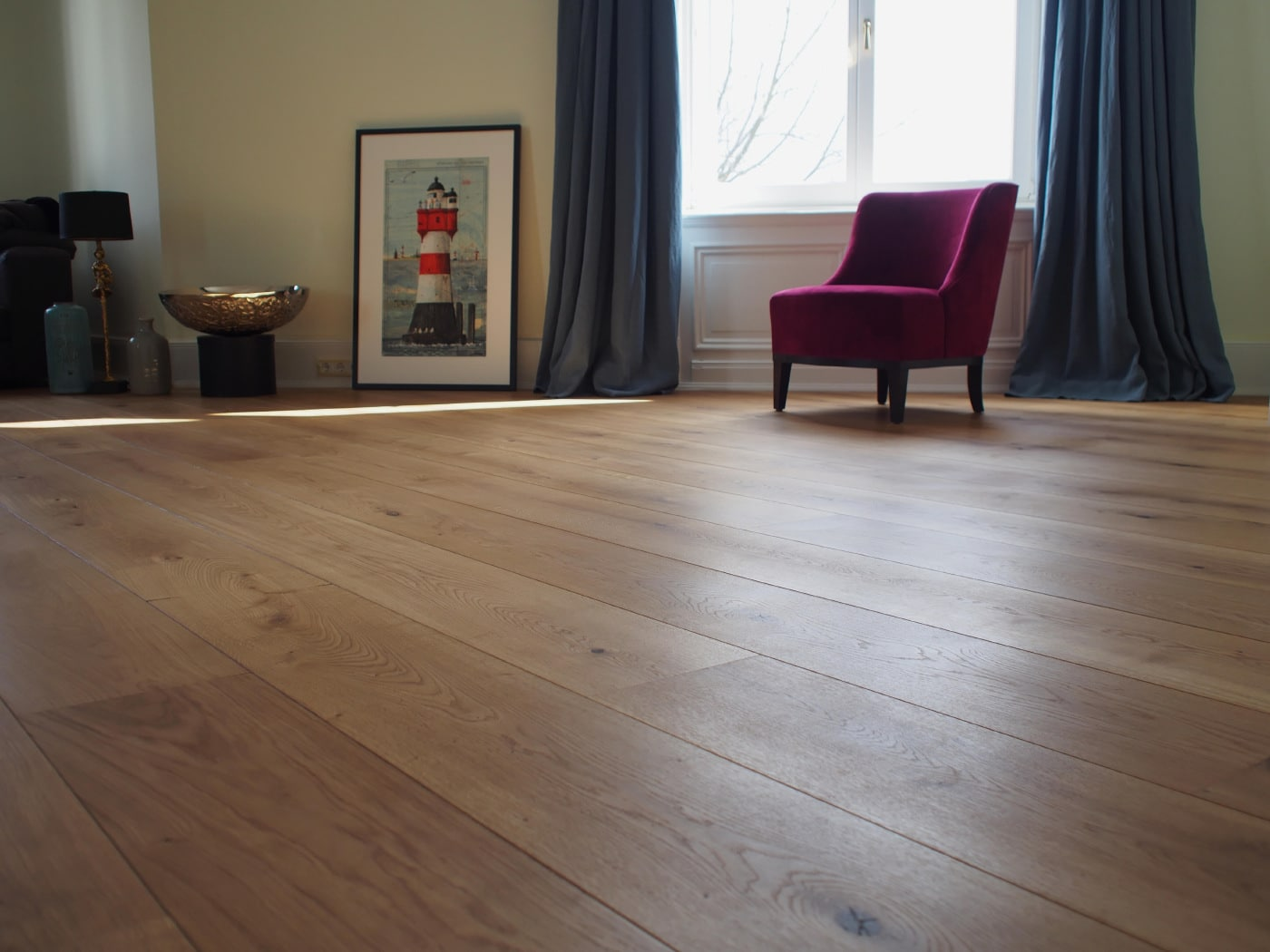 schlossdielen eiche lang. Black Bedroom Furniture Sets. Home Design Ideas